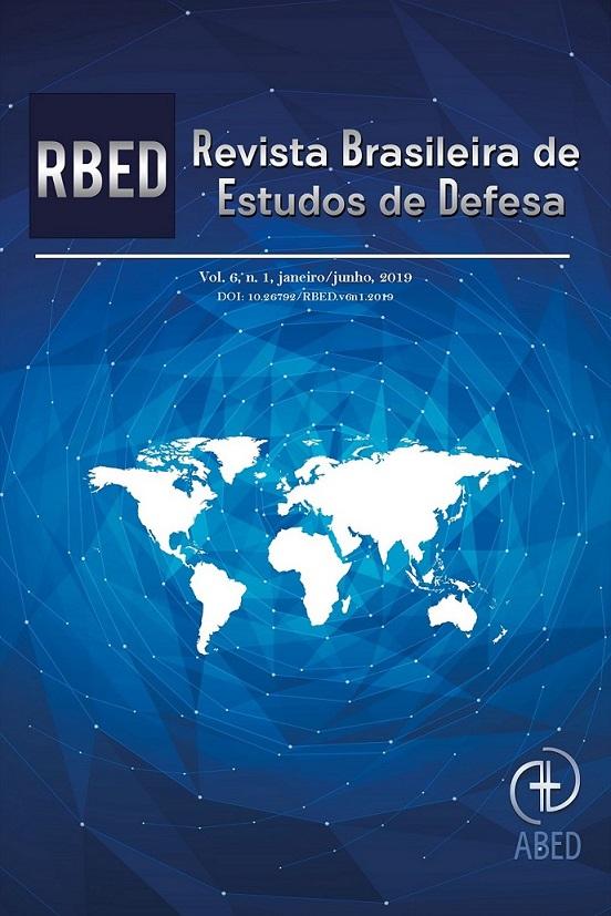 Revista Brasileira de Estudos de Defesa número 6, volume 1 -  Jan/Jun 2019.